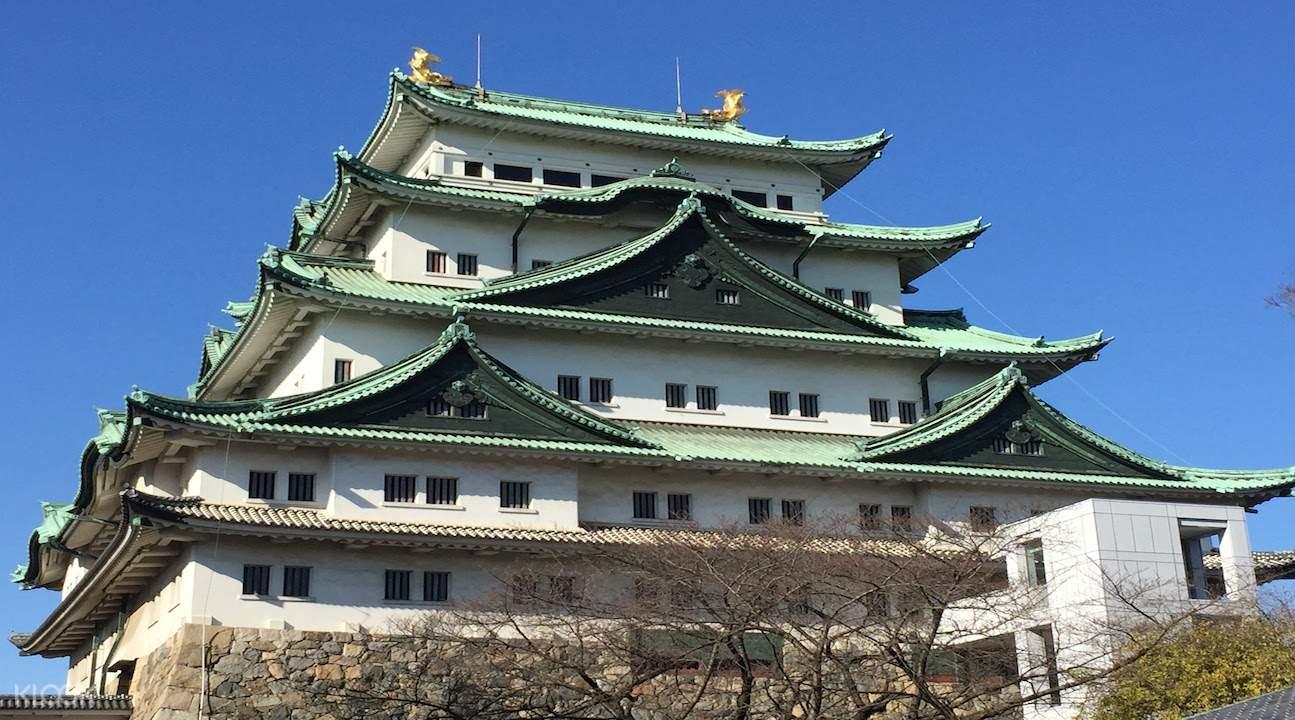 nagoya walking tour, walking tour of nagoya, nagoya castle tour