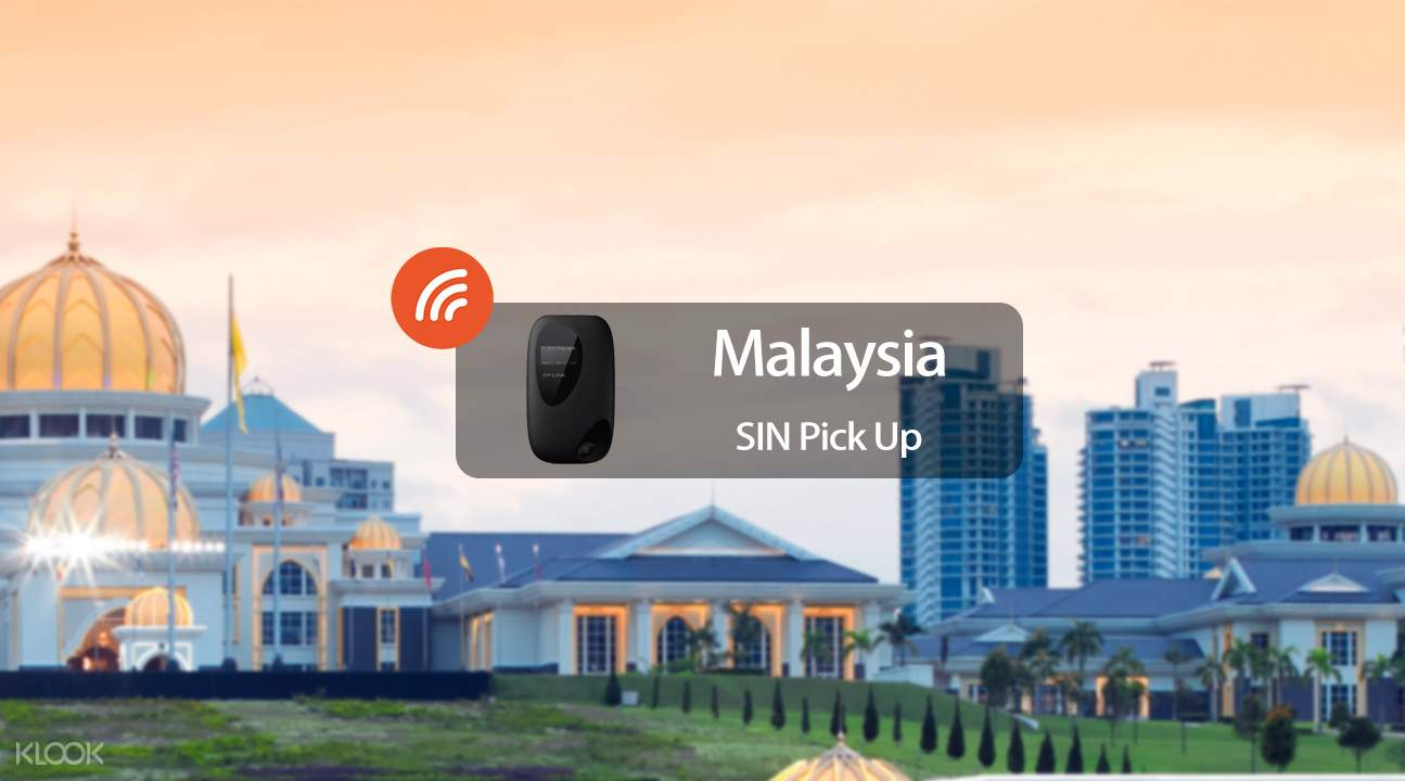 3.5G WiFi (SIN Pick Up) for Malaysia