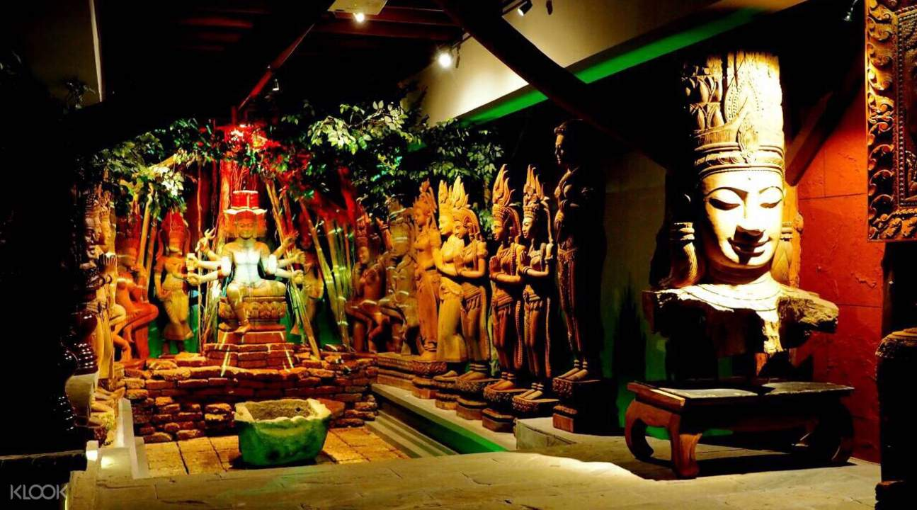 曼谷 Woodland Muangmai 木雕藝術村門票