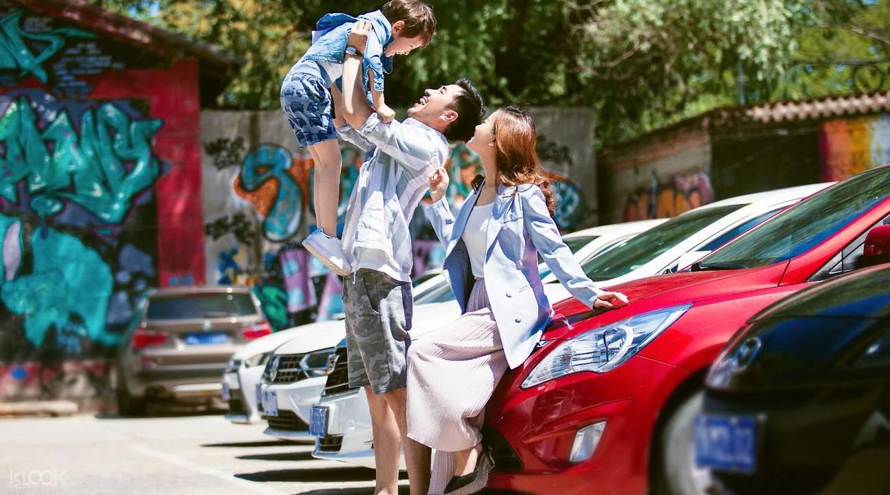 苏州旅行跟拍家庭