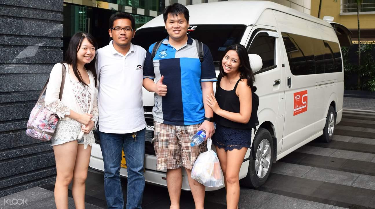 包车游览曼谷至北碧府