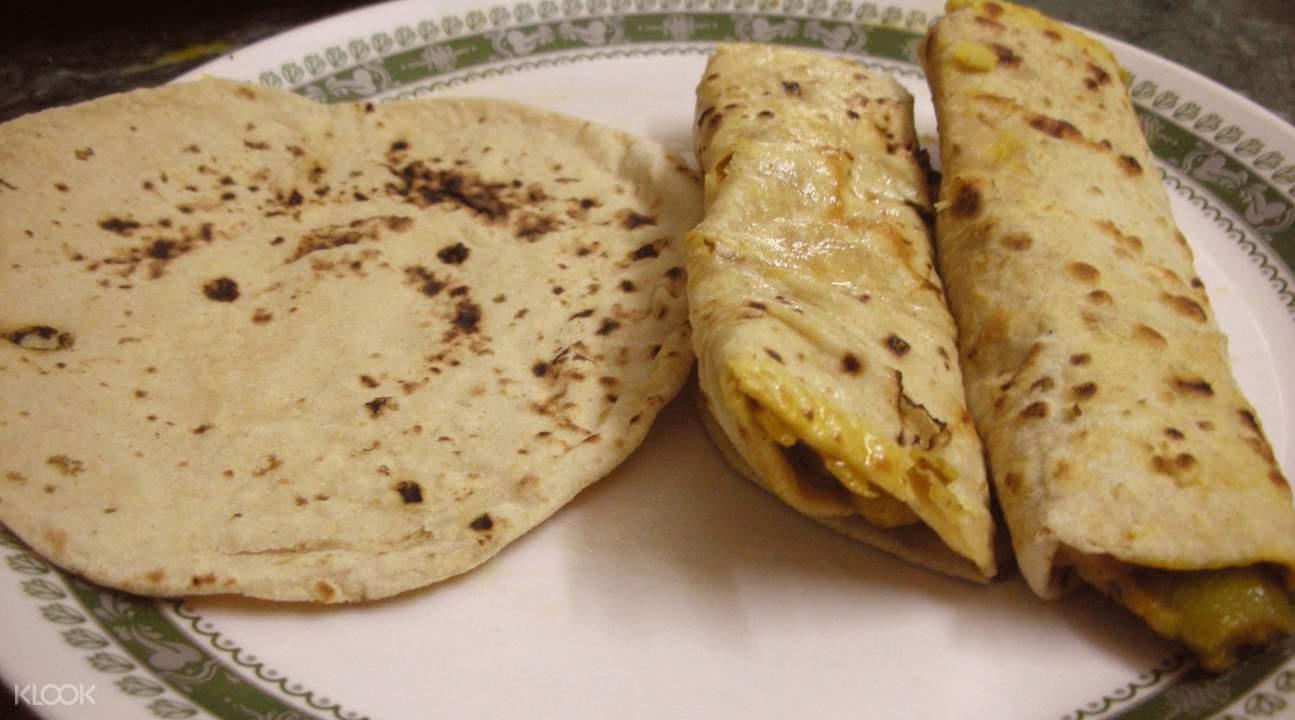 加尔各答当地孟加拉式料理