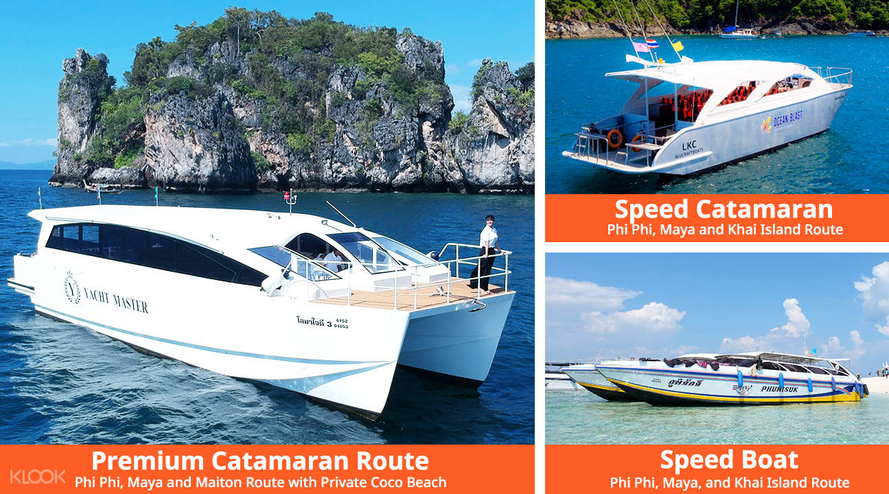 catamaran boat for cruising phi phi islands