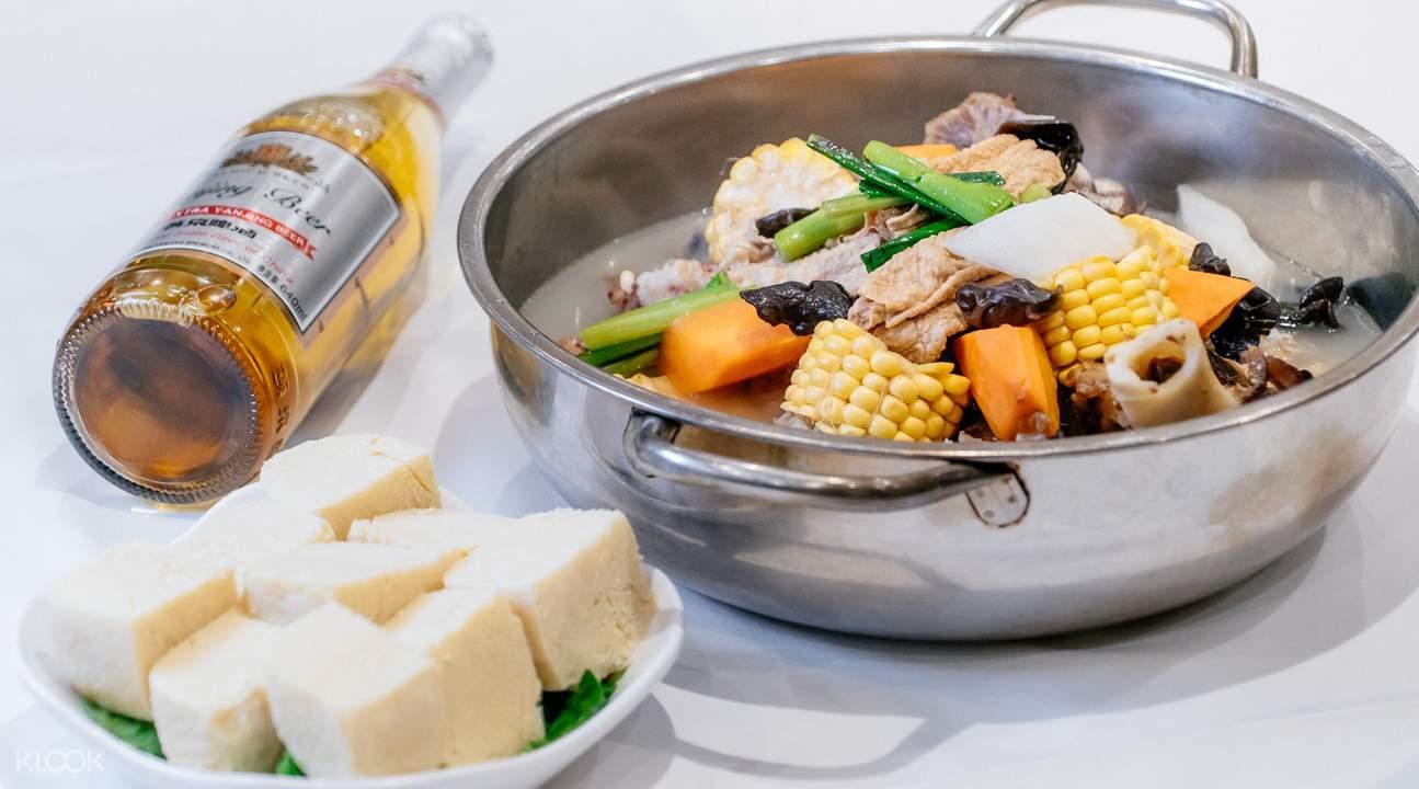 香港稻香火锅套餐