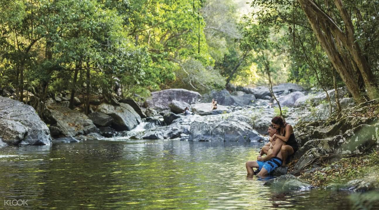 熱帶叢林溪降挑戰