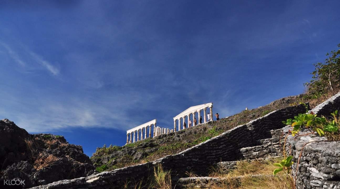 财富岛希腊神庙建筑