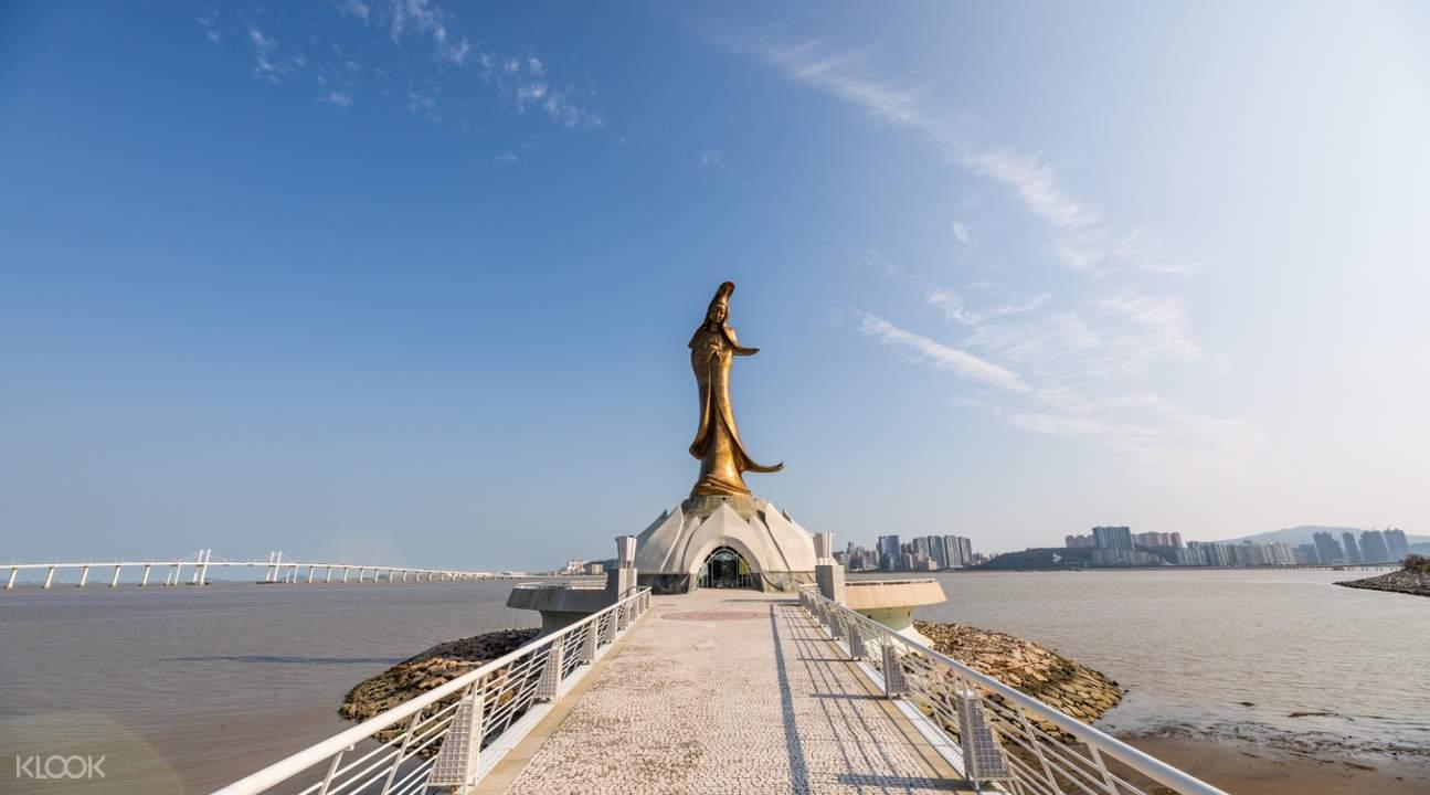 macau Kun Iam statue