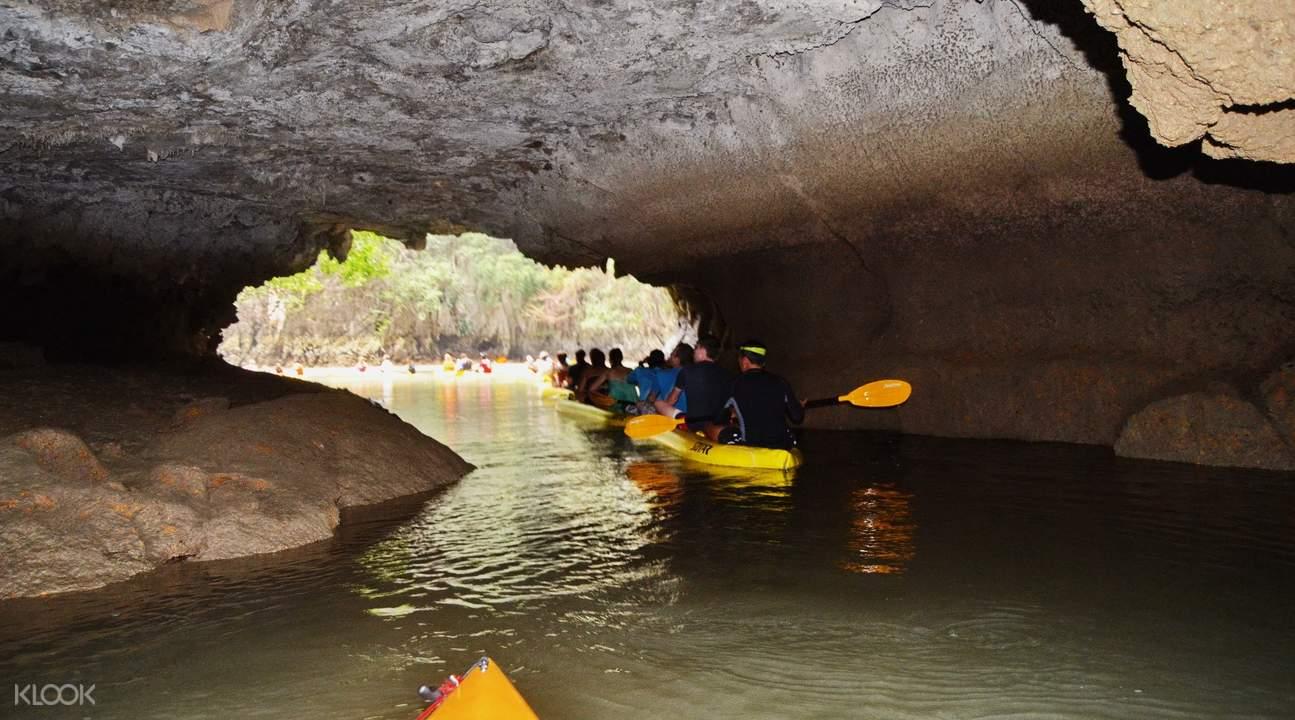 Phuket kayaking tour