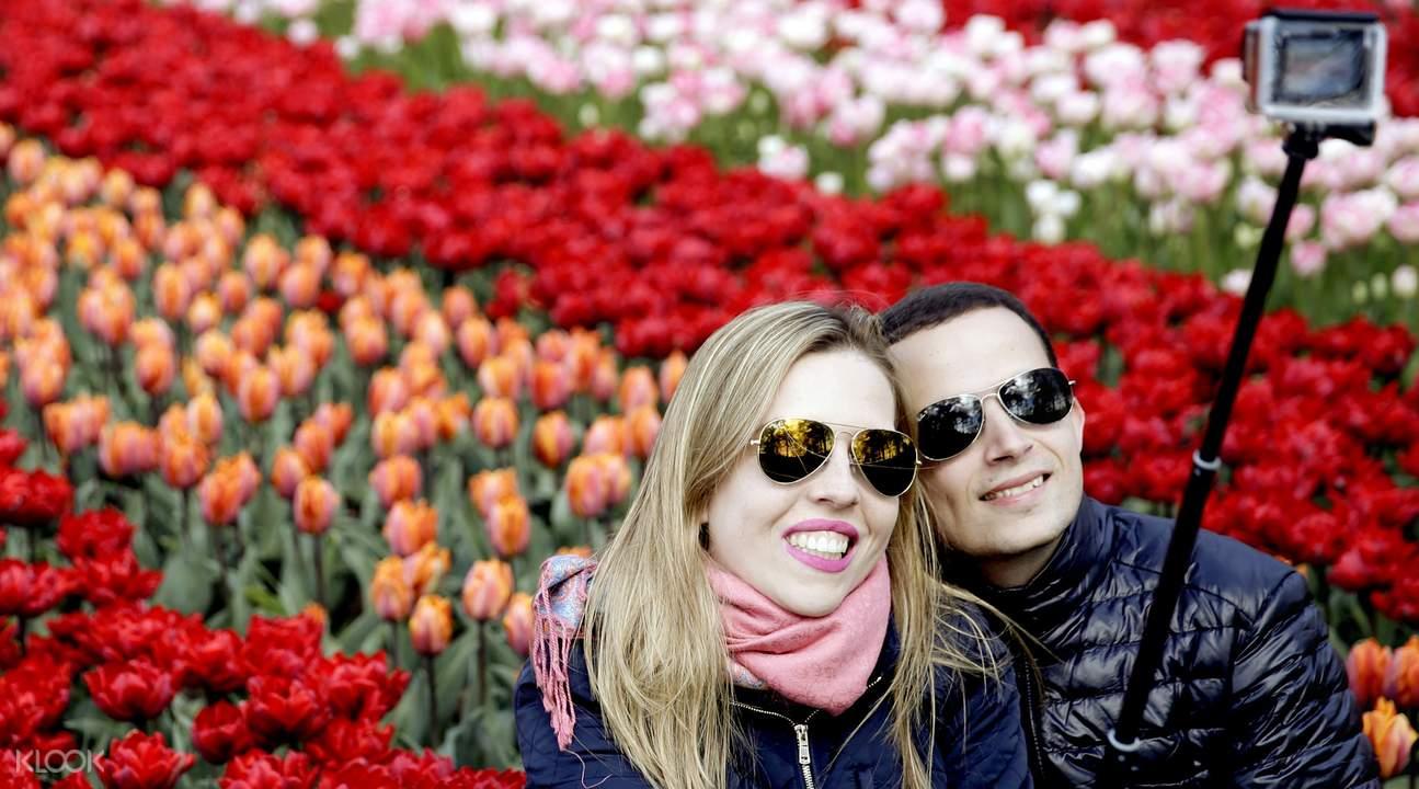 Amsterdam Tulip Garden 2017