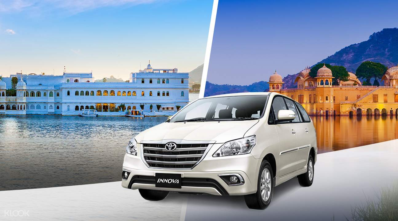 Private One Way Transfers between Udaipur and Mount Abu, Jaipur, and More