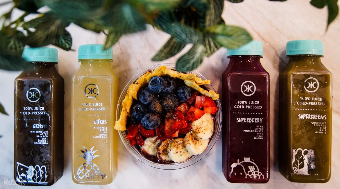 acai bowl and cold pressed juices the cafe by hic the centrepoint somerset