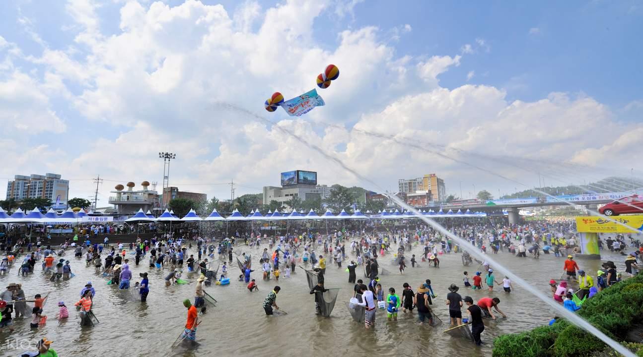 bonghwa eun-uh sweet fish festival