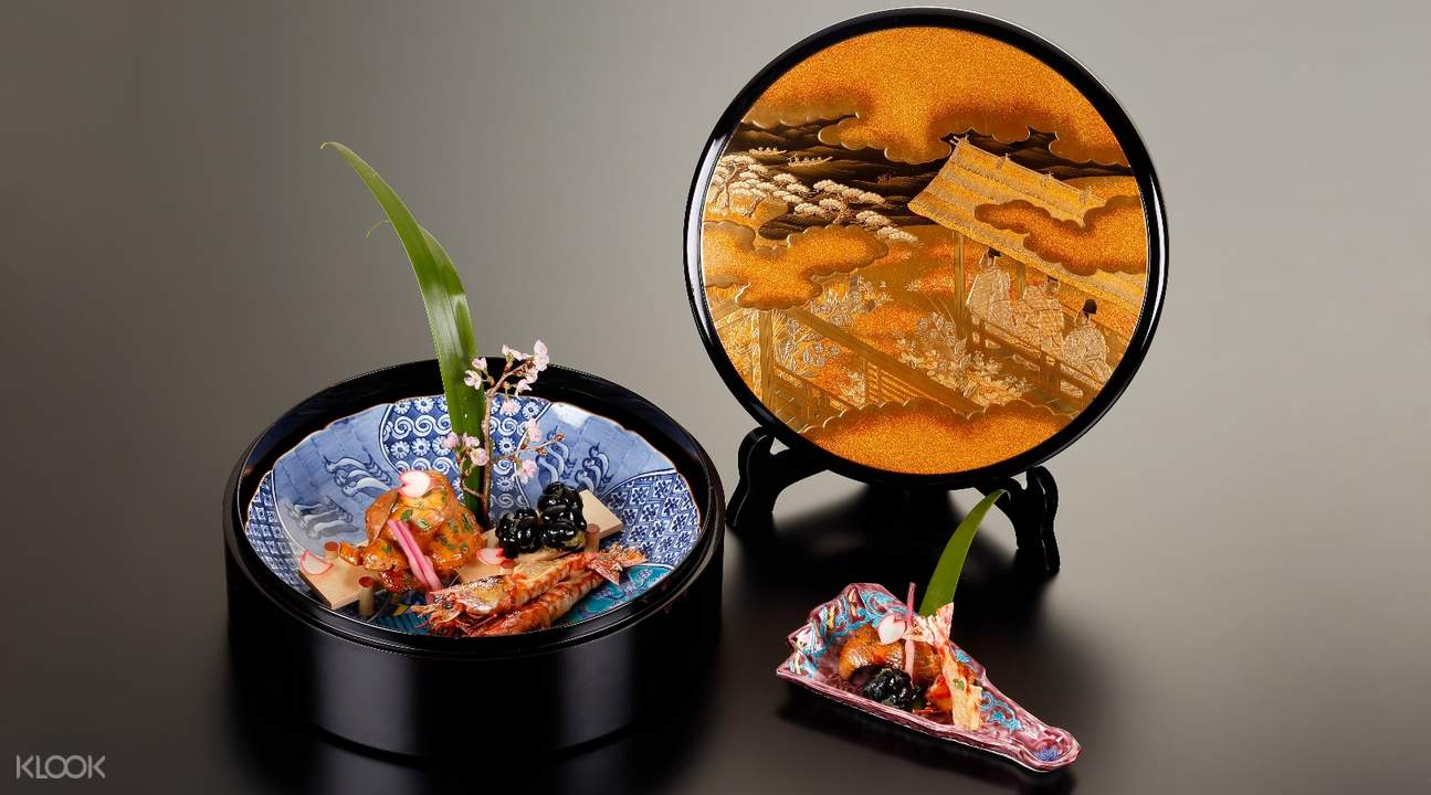 grilled food hamatoku kaiseki kyoto