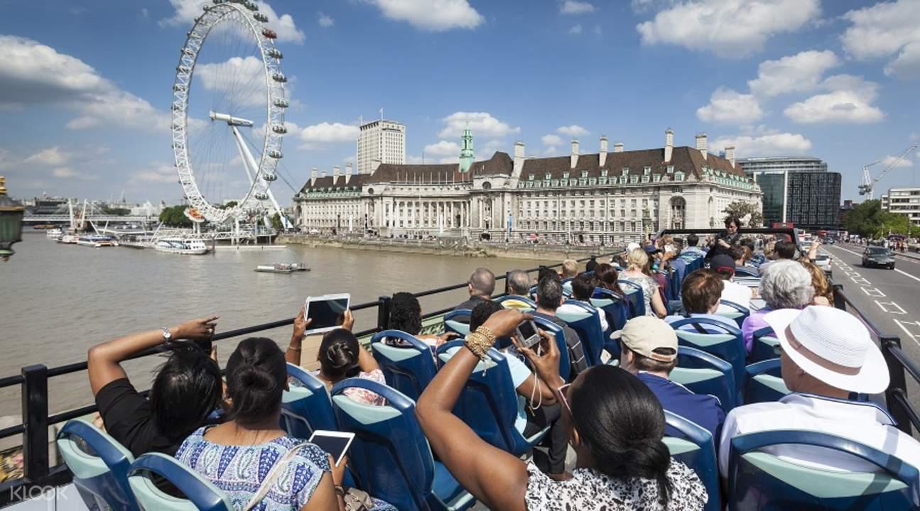 伦敦城市观光巴士