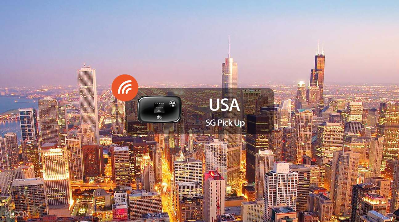 4g pocket wifi for usa singapore pick up