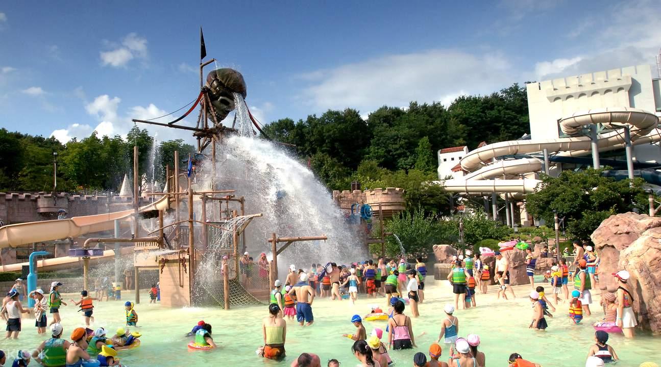 everland theme park rides