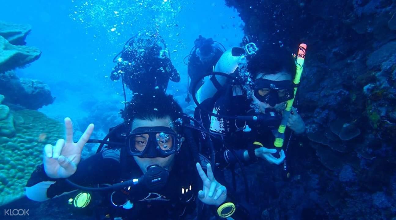 綠島潛水推薦、珊瑚礁、潛水費用、活動預約方式、綠島交通 Green Island Scuba Diving Taiwan