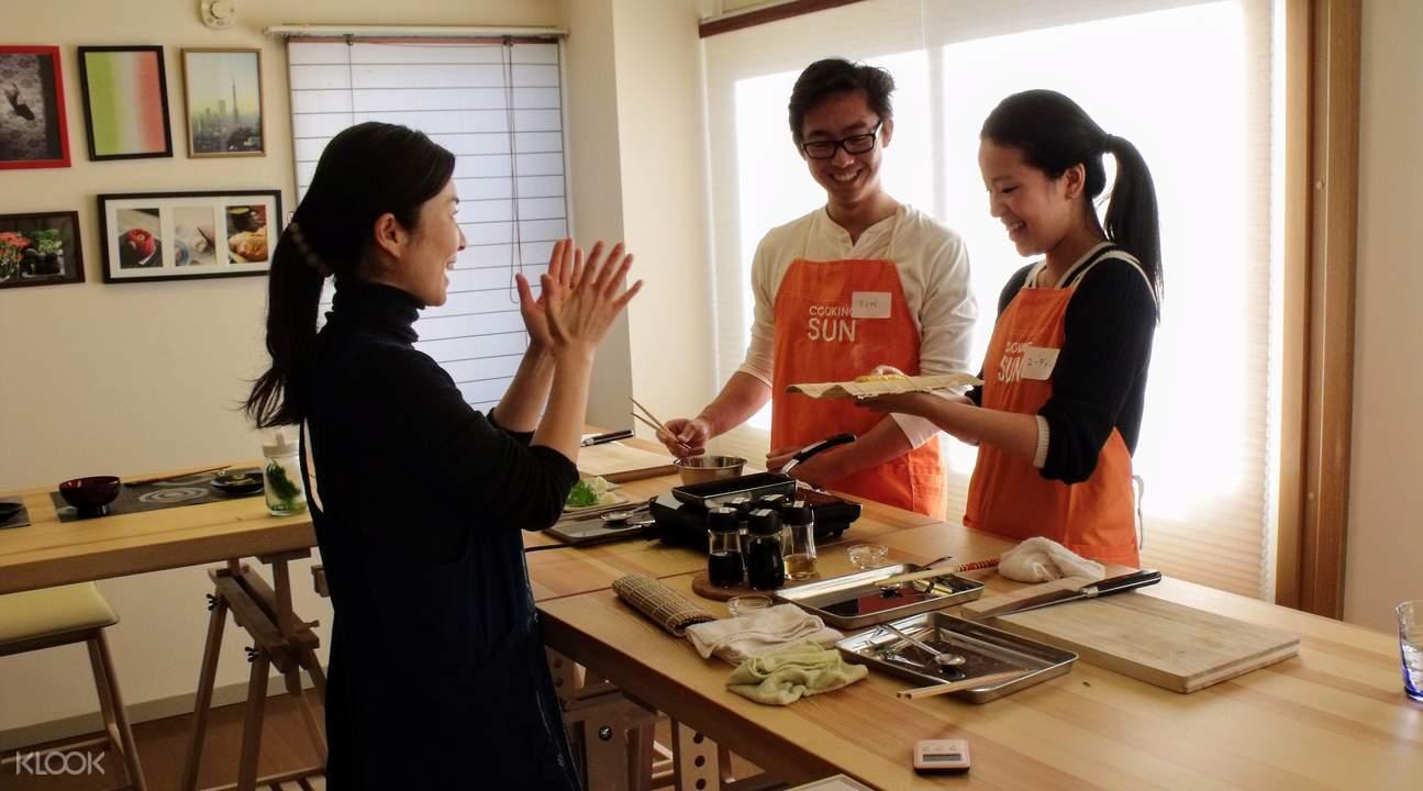 sushi cooking class tokyo japan