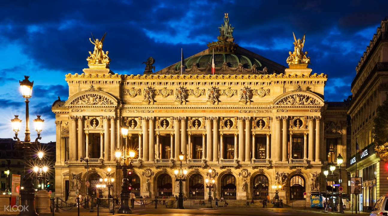 Opera garnier guided tour
