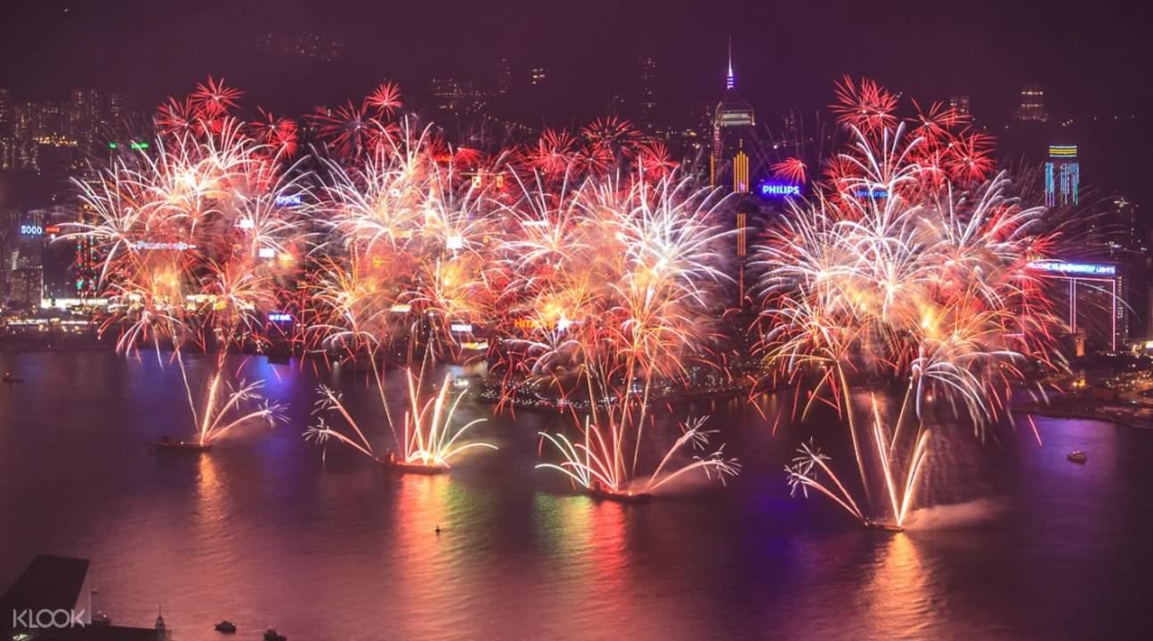 sky100 fireworks