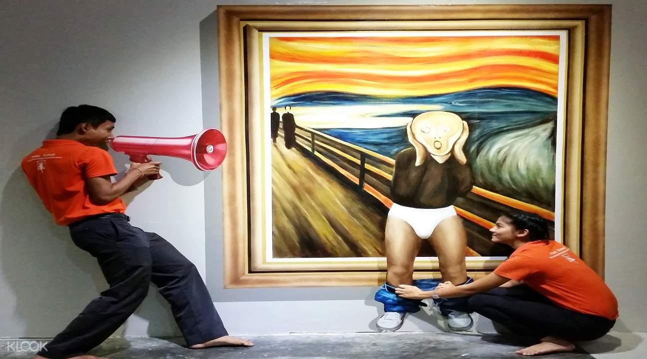 普吉島3D搞怪攝影博物館