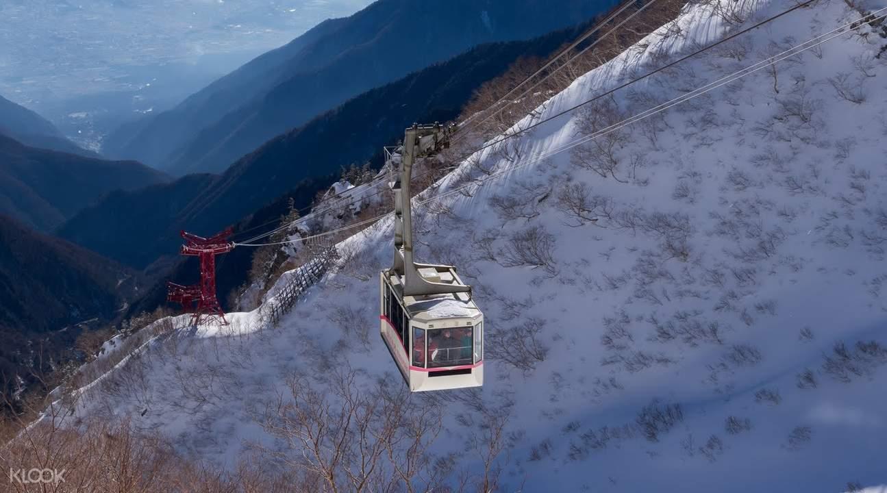 箱根駒岳纜車