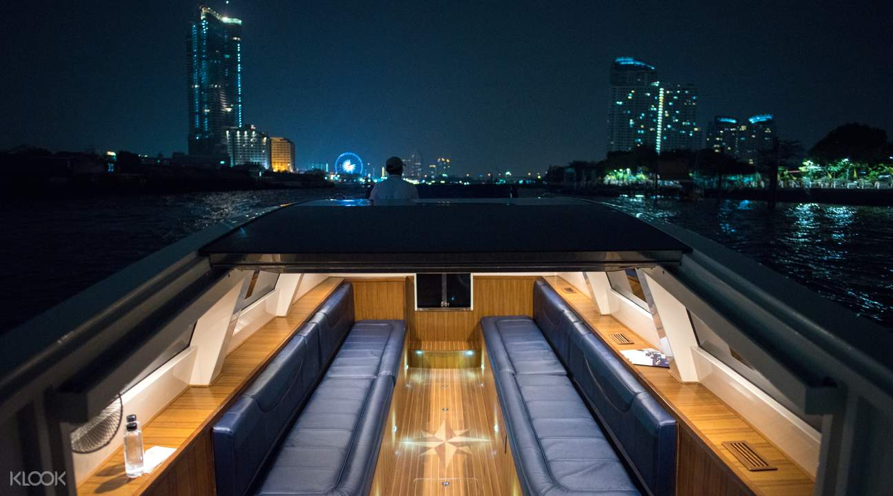 luxury chao phraya cruise