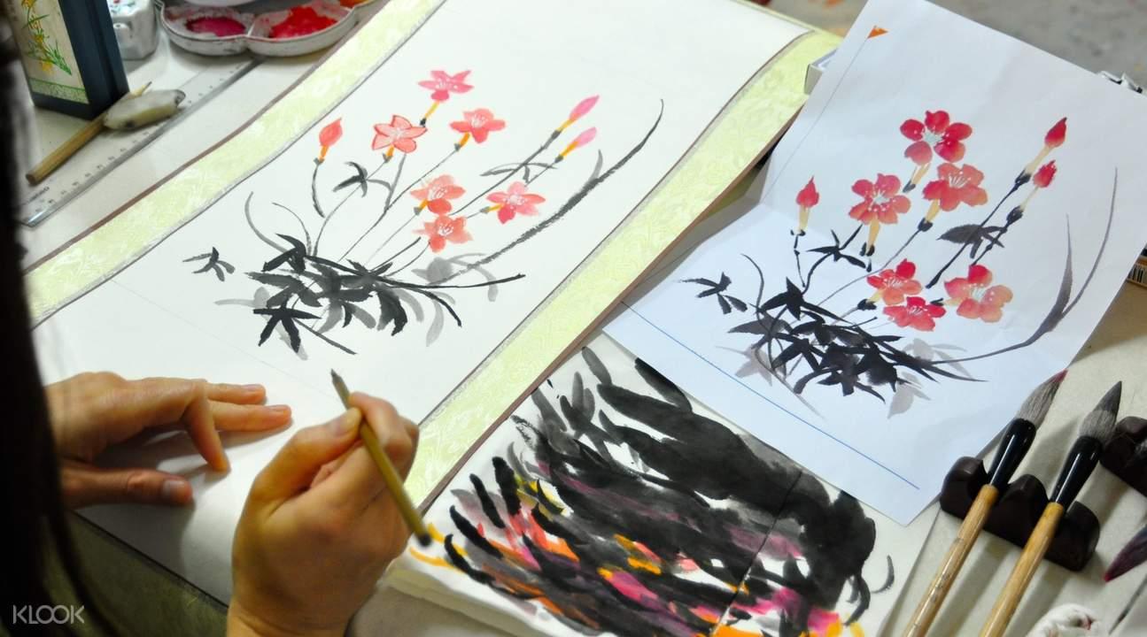 Workshop Lukisan Tradisional Cina di hong kong