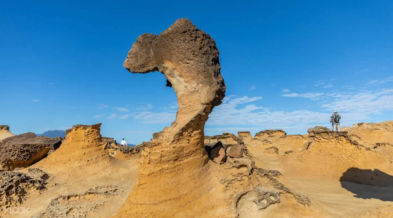 queen's head at yehliu geopark