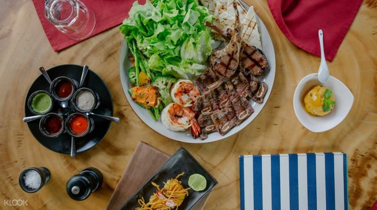 barbecue baba hot box sri panwa resort phuket thaland