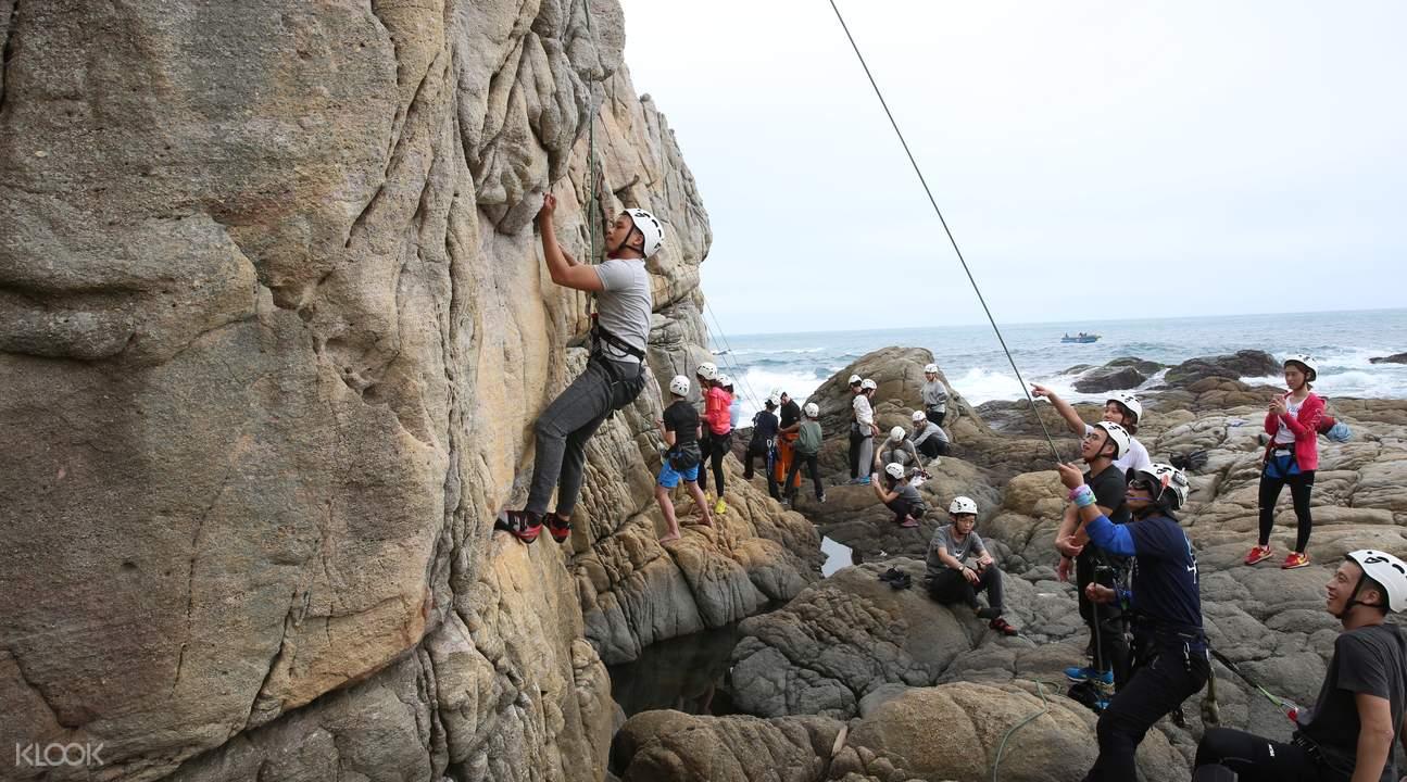 龙洞攀岩场