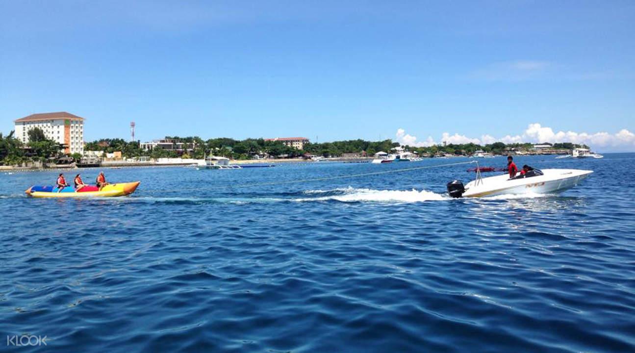 麦克坦岛水上活动