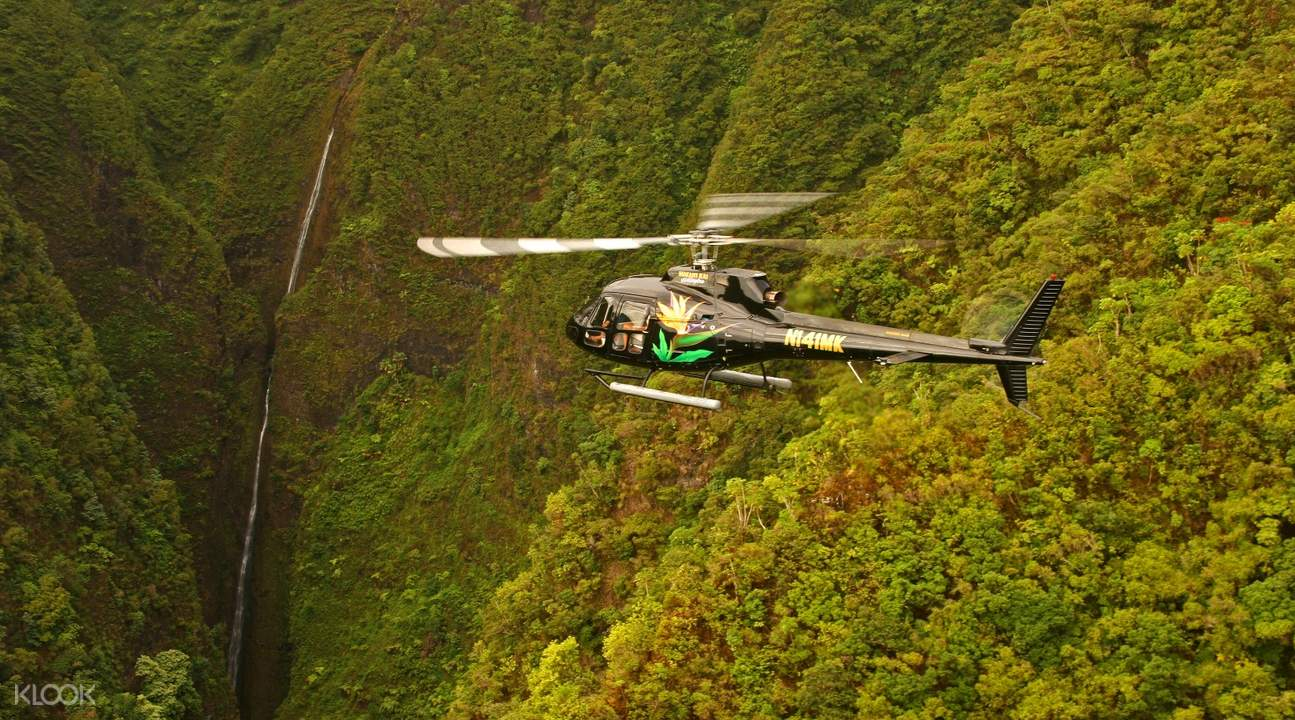 Makani Kai Air 歐胡島直升機之旅(含酒店接送)