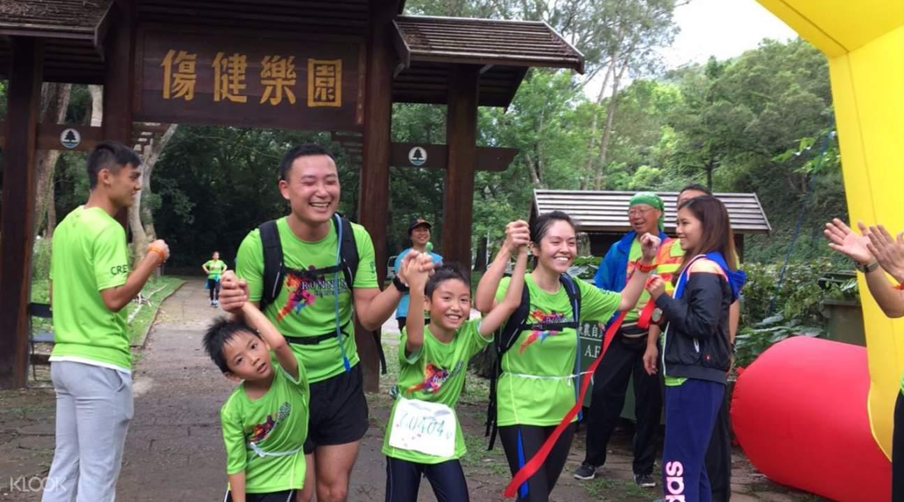 Running HK 2018 family