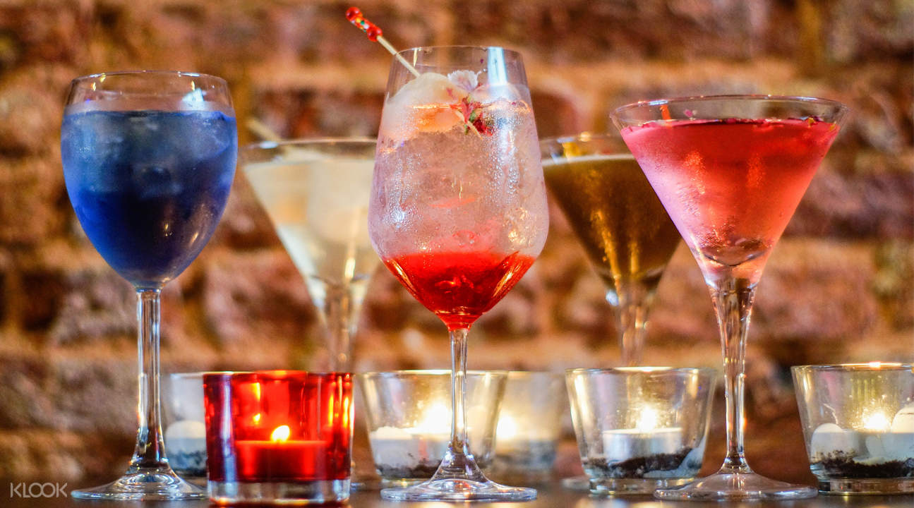 Ephiphyte Cuisine Bar cocktails