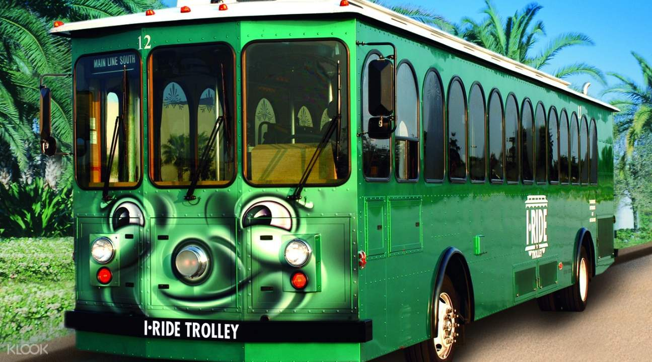 i-ride hop on hop off trolley pass in orlando