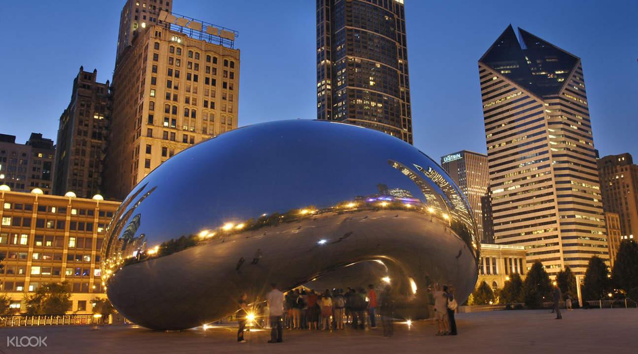 芝加哥巴士观光半日游