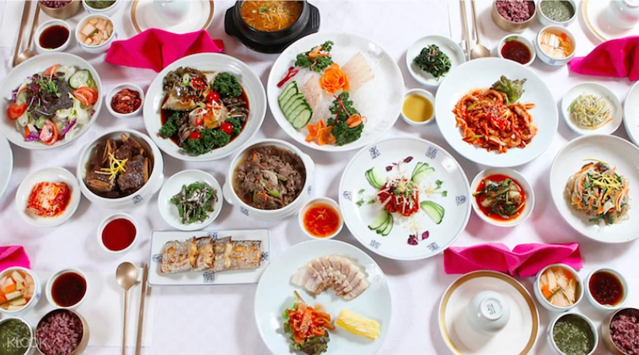 Royal Korean Cuisine Myeongdongjeong in Seoul South Korea