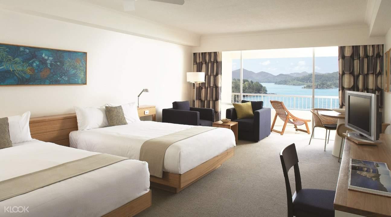 四天三夜漢密爾頓島白天堂沙灘套餐(珊瑚景酒店)