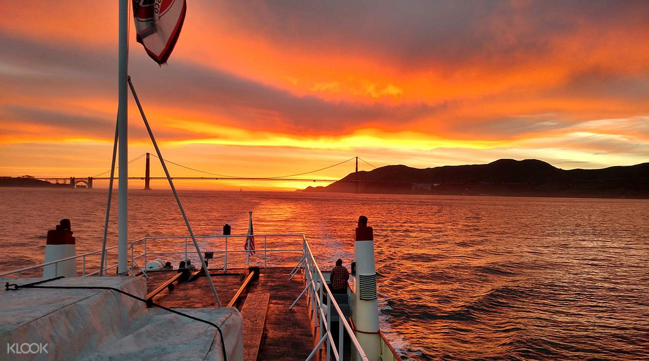 california sunset cruise san francisco