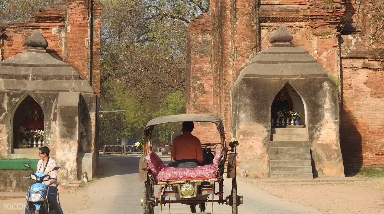 bagan horsecart Private Half Day Tour in Bagan, Myanmar