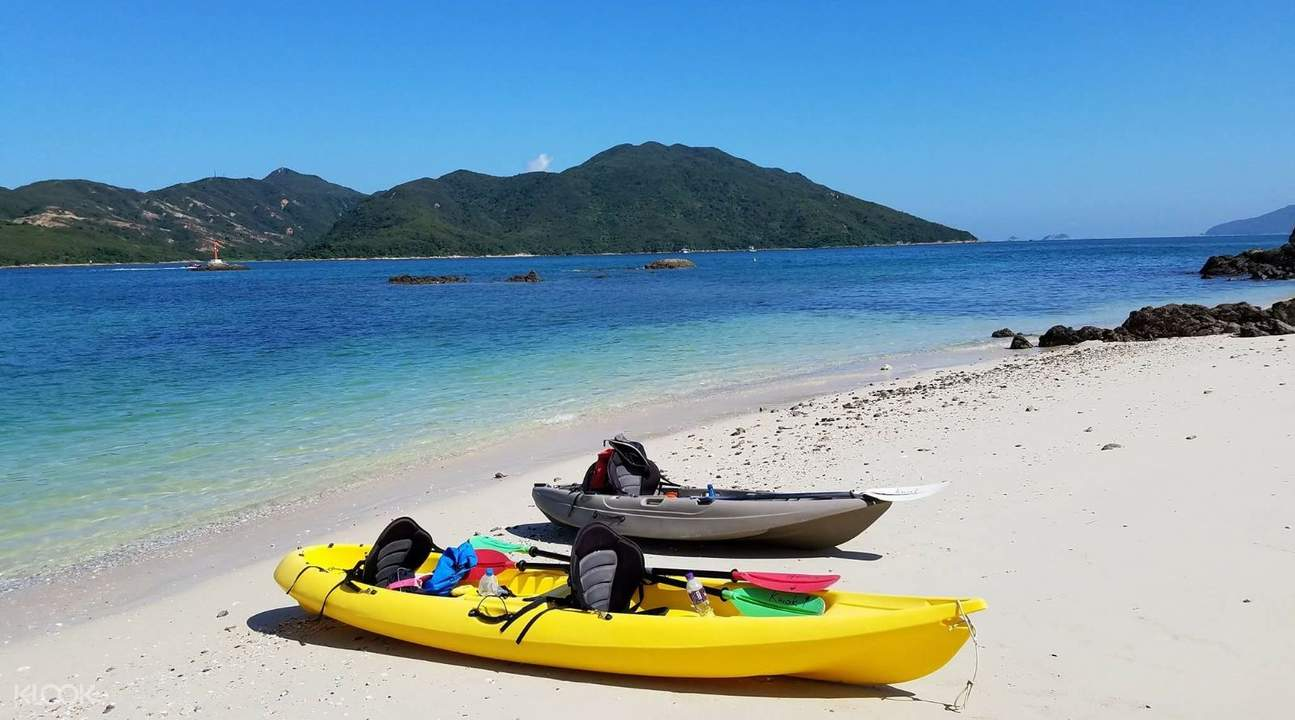 Biking and Kayaking at Sai Kung, Hong Kong