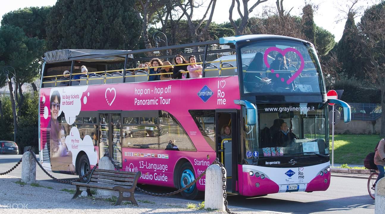 罗马城市全景观光巴士