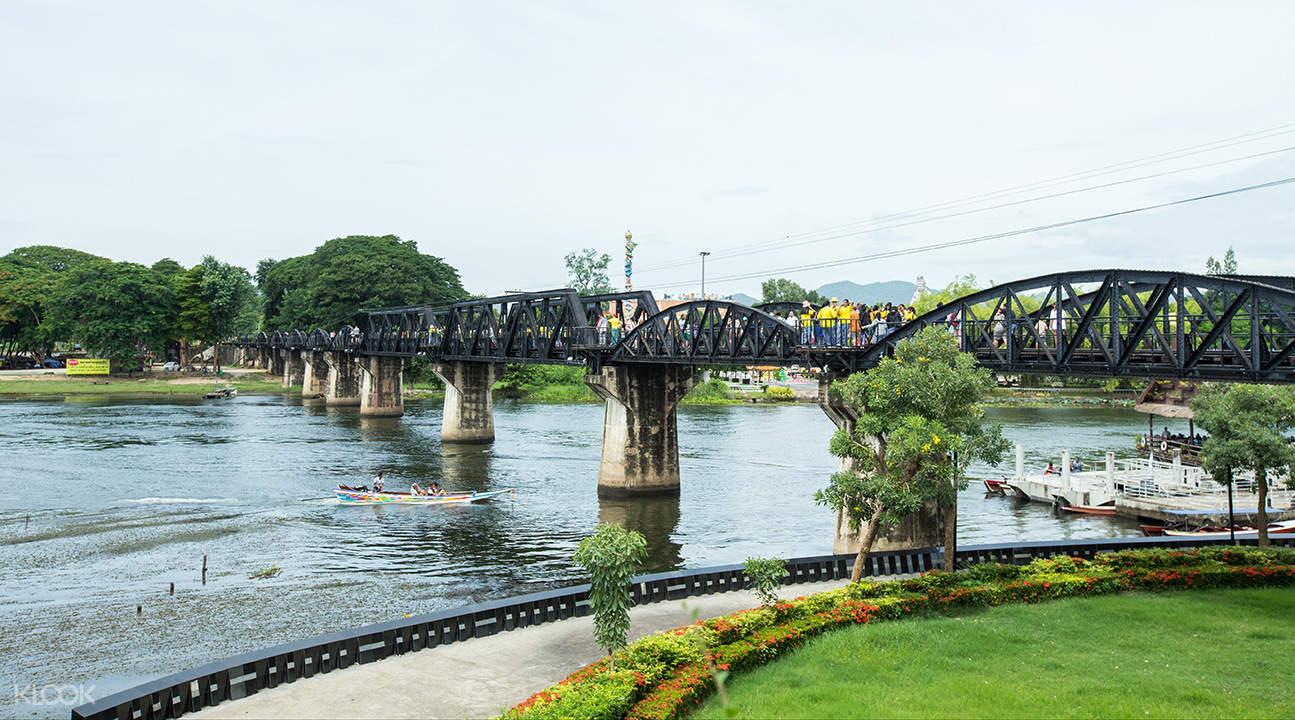 kanchanaburi river kwai bridge from bangkok thailand