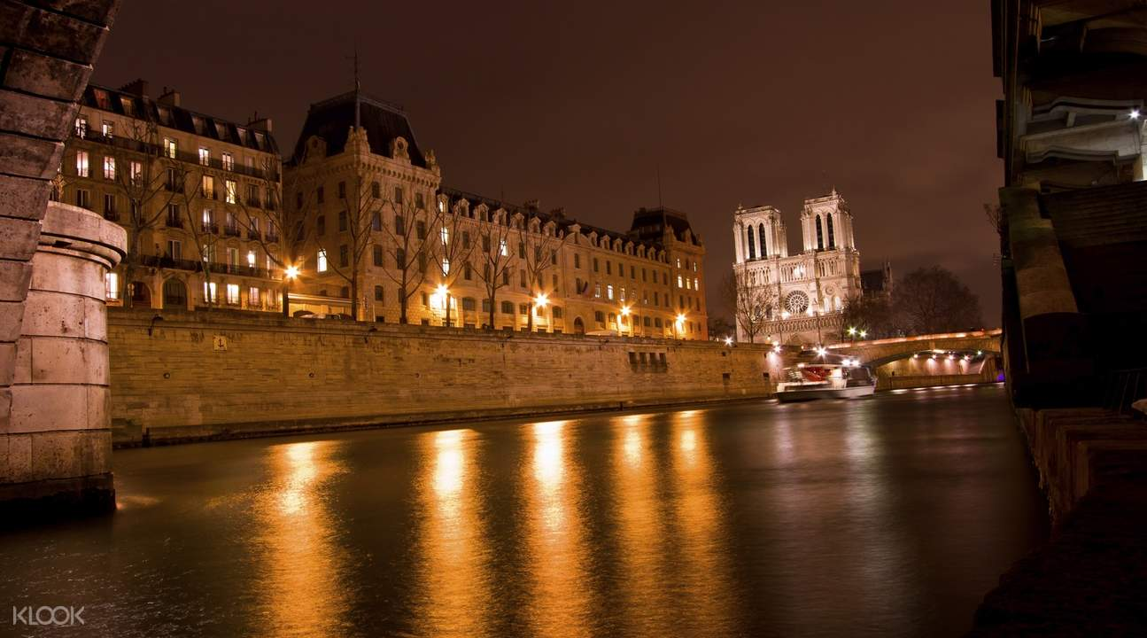 paris by night city tour seine river cruise