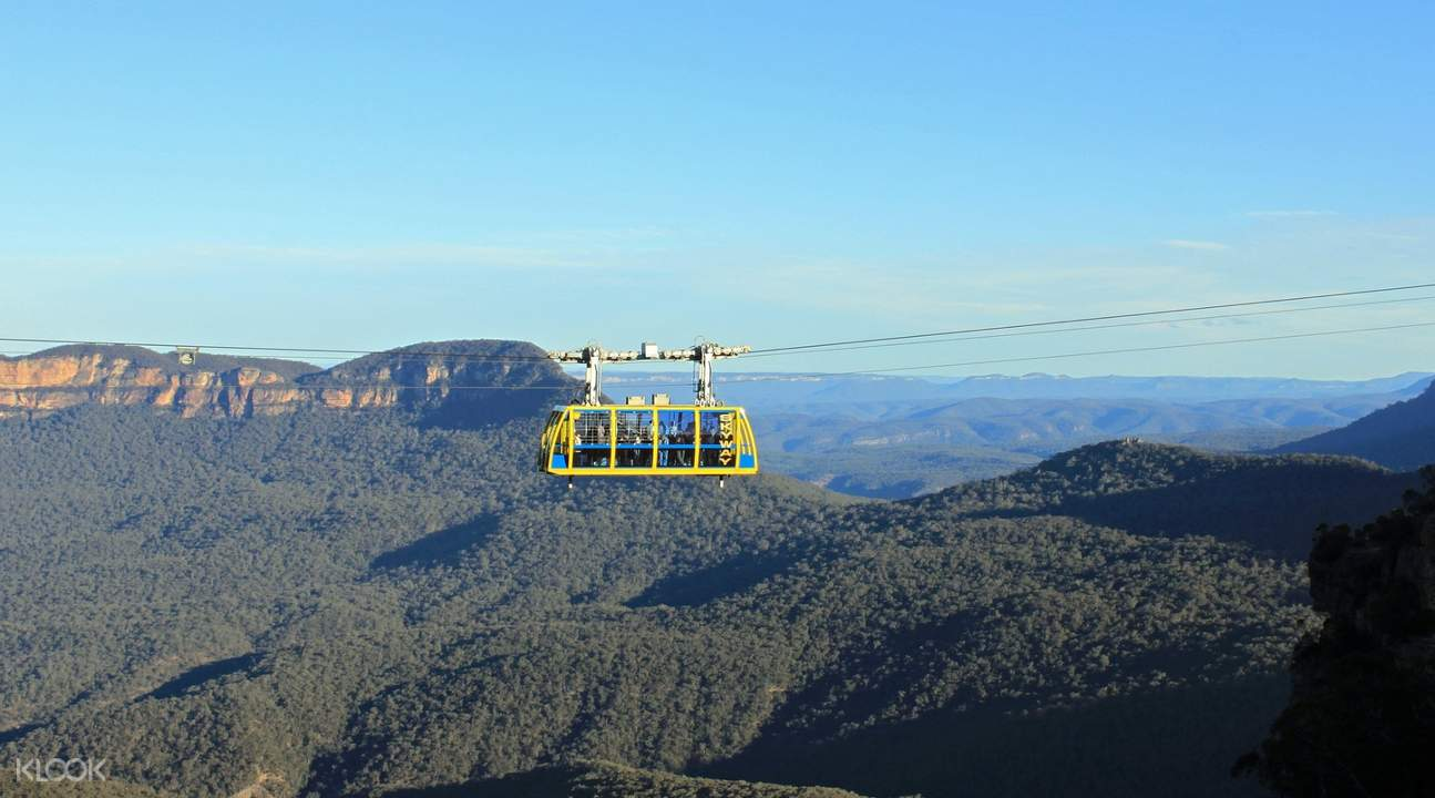 blue mountain scenic world cableway