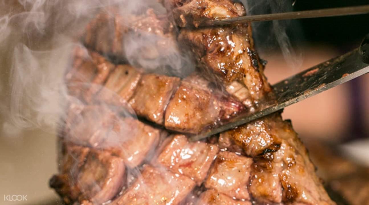 日本東京涉谷牛丸烤肉店 - 烤肉