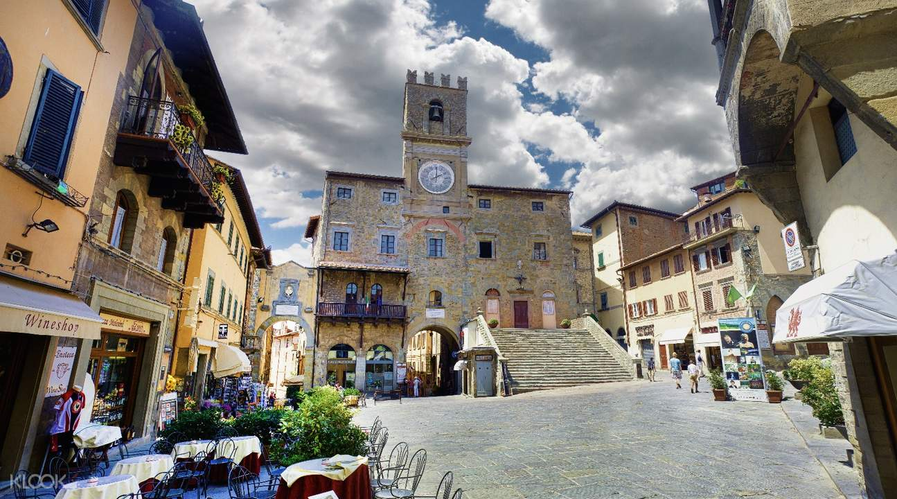 excursion to assisi and cortona florence italy