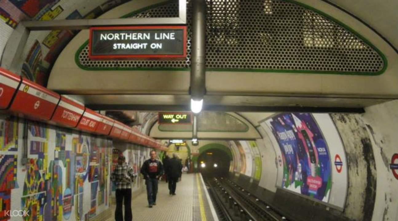 london underground ghost station tour