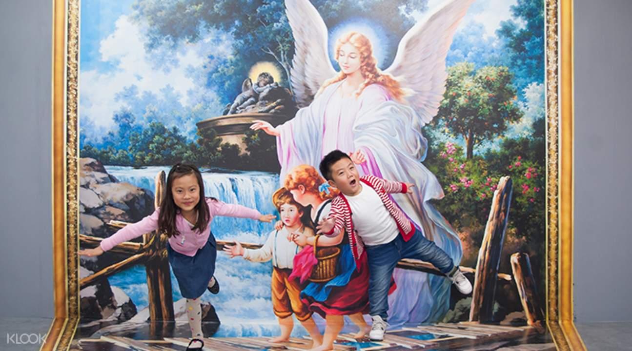 名畫的秘密-天使橋